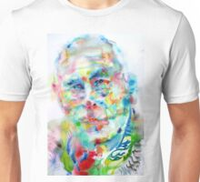 HENRY MILLER watercolor portrait.3 Unisex T-Shirt