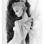 Faerie Nude Pencil by Andy Smith