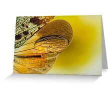 On the Wild Wing of Dawn Greeting Card