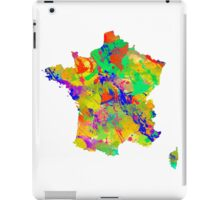 Watercolor Map of  France iPad Case/Skin