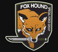 Fox Hound Special Force Group Kids Clothes