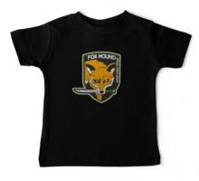 Fox Hound Special Force Group Baby Tee