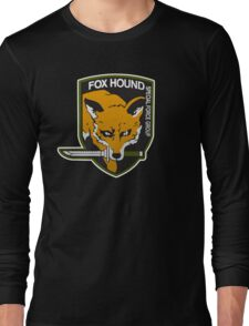 Fox Hound Special Force Group Long Sleeve T-Shirt