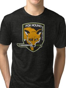 Fox Hound Special Force Group Tri-blend T-Shirt