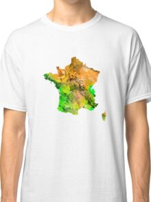 Map of  France Classic T-Shirt