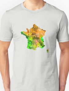 Map of  France Unisex T-Shirt
