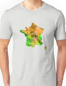 Map of  France Unisex T-Shirt