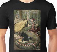Marine Fondles the Dragon Unisex T-Shirt