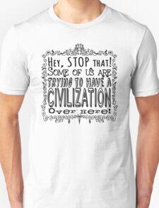 Civilization Dark on Light T-Shirt