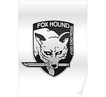 Fox Hound Special Force Group Poster