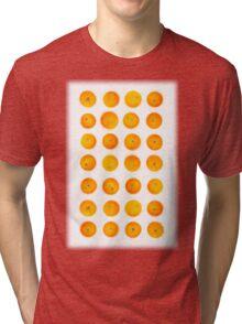 Oranges in rows Tri-blend T-Shirt