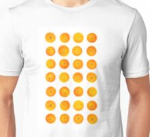 Oranges in rows Unisex T-Shirt