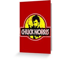Chuck Norris Greeting Card