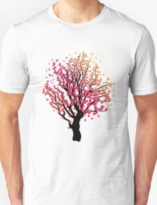 Stylized Autumn Tree 4 Unisex T-Shirt