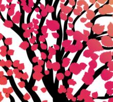Stylized Autumn Tree 4 Sticker