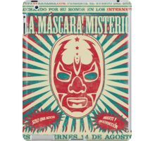 The Mysterious Mask iPad Case/Skin