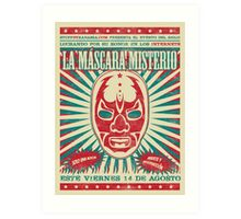 The Mysterious Mask Art Print