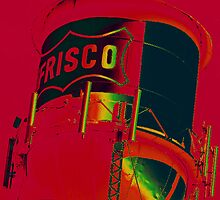 The Old Frisco Tower by Diana Moya