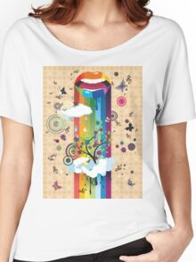 Surreal Tree Women's Relaxed Fit T-Shirt