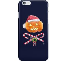 Pumpkin Santa iPhone Case/Skin