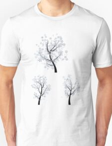 Trees with Snowflakes T-Shirt