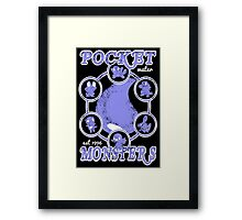Pocket Monsters - Water Framed Print