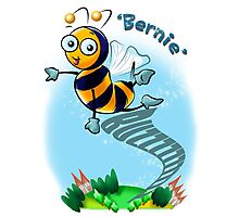 Bernie Bumble Bee Photographic Print