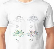 Umbrella Shape Tree Unisex T-Shirt