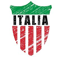 Vintage Italy Emblem Photographic Print