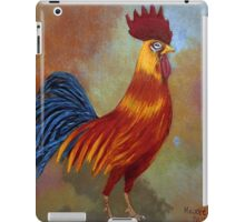 Rooster-3 iPad Case/Skin