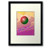 miracle planet Framed Print