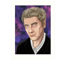 Peter Capaldi - 12th Doctor Art Print