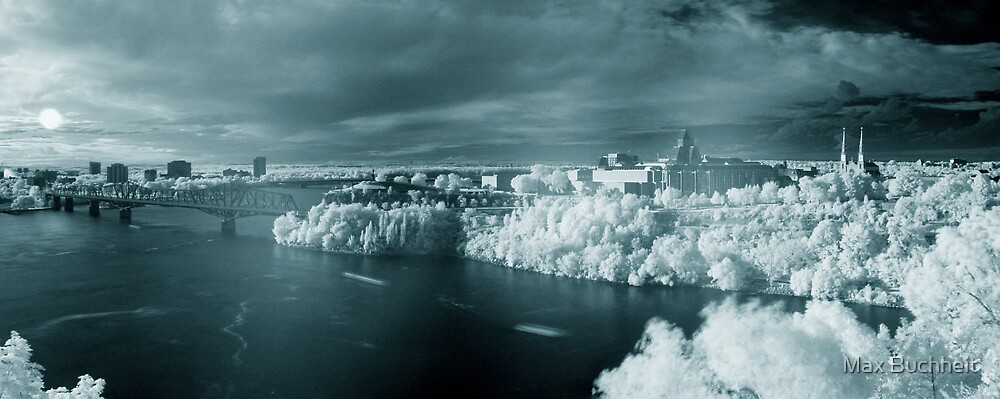 Summer Infrared View of Ottawa by Max Buchheit