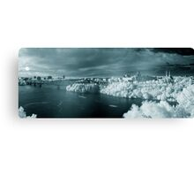 Summer Infrared View of Ottawa Canvas Print