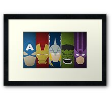 heroes or superheroes? Framed Print