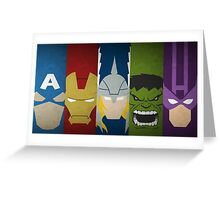 heroes or superheroes? Greeting Card