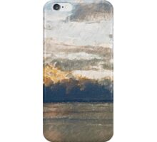 Yet another Lake Geneva and alps landscape. iPhone Case/Skin