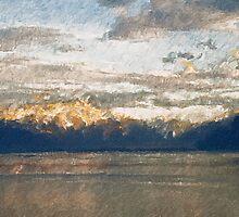 Yet another Lake Geneva and alps landscape. by zawij