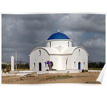 Saint Nicholas Church in Paphos Cyprus Poster