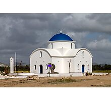 Saint Nicholas Church in Paphos Cyprus Photographic Print