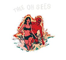 Thee oh Sees  Photographic Print