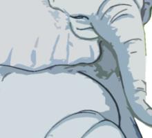 Friendly Elephant Sticker