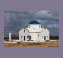 Saint Nicholas Church in Paphos Cyprus Kids Tee