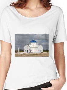 Saint Nicholas Church in Paphos Cyprus Women's Relaxed Fit T-Shirt