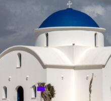 Saint Nicholas Church in Paphos Cyprus Sticker