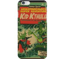 Miskatonicomics Super Adventure #11 Presents Kid Kthulu iPhone Case/Skin