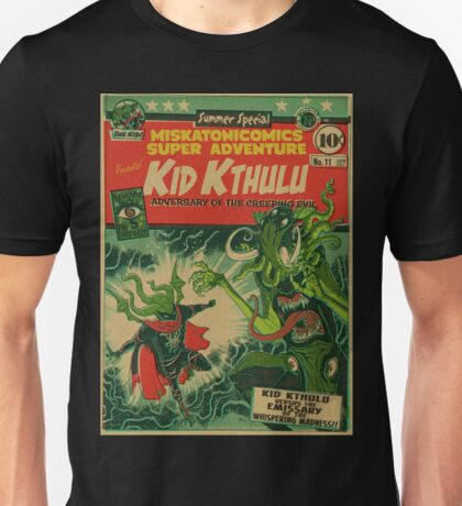 Miskatonicomics Super Adventure #11 Presents Kid Kthulu T-Shirt