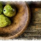 Still Life with Pears by Edward Fielding