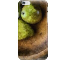 Still Life with Pears iPhone Case/Skin