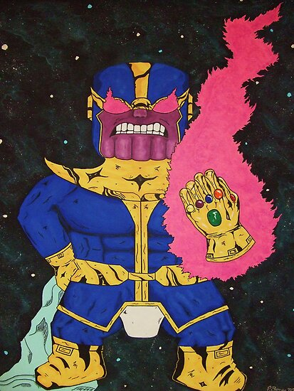 Baby Thanos Wants Cake! by pbones